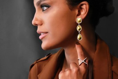 Elements Earring and Whisper Ring