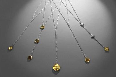 Silver Y Necklaces