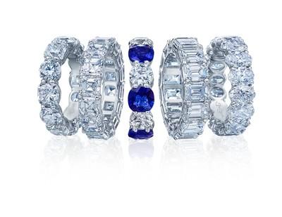 Platinum Diamond Bands