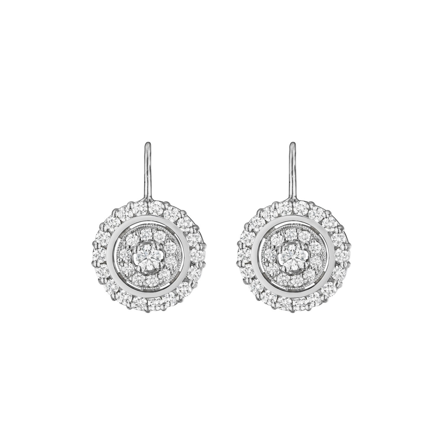 Round Shaped Prong Earrings