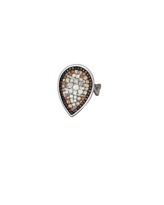 Border Eclipse-Large Pearshaped Ring