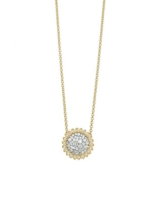 Ice Small Single Round Necklace