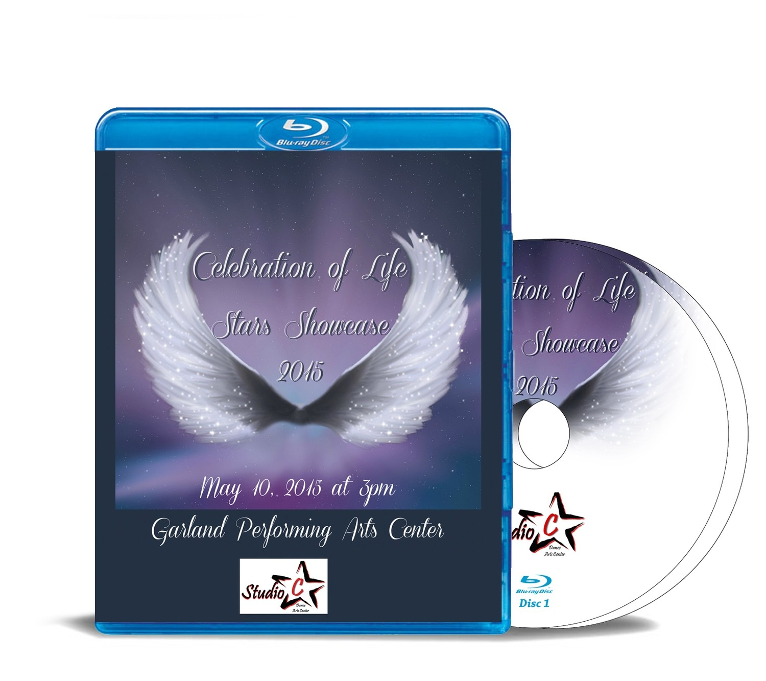 Stars Showcase Celebration of Life Blu-ray 2015