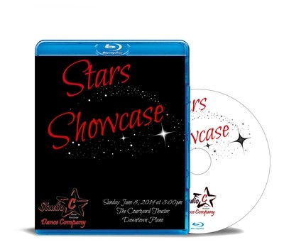 Stars Showcase Blu-ray 2014