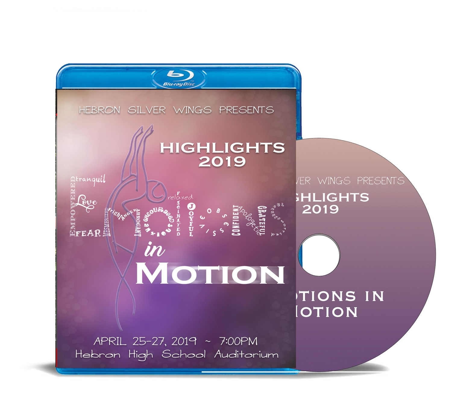 """Silver Wings Blu-ray """"Emotions in Motion"""" 2019"""