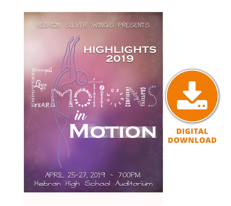 "2019 Silver Wings ""Emotions in Motion"" Digital Download"