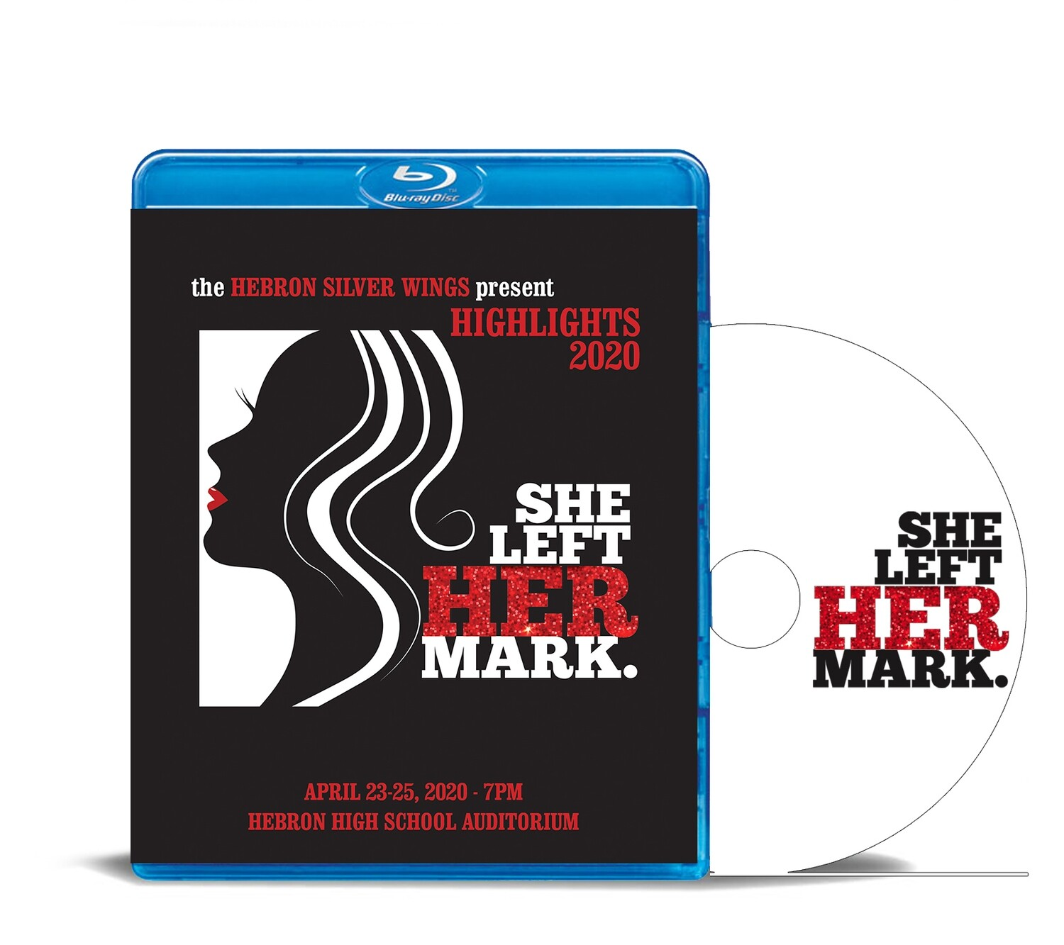 "Silver Wings Blu-ray ""She Left Her Mark"" 2020"
