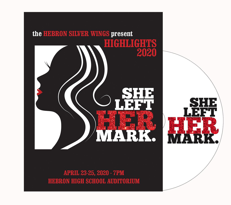 """Silver Wings DVD """"She Left Her Mark"""" 2020"""
