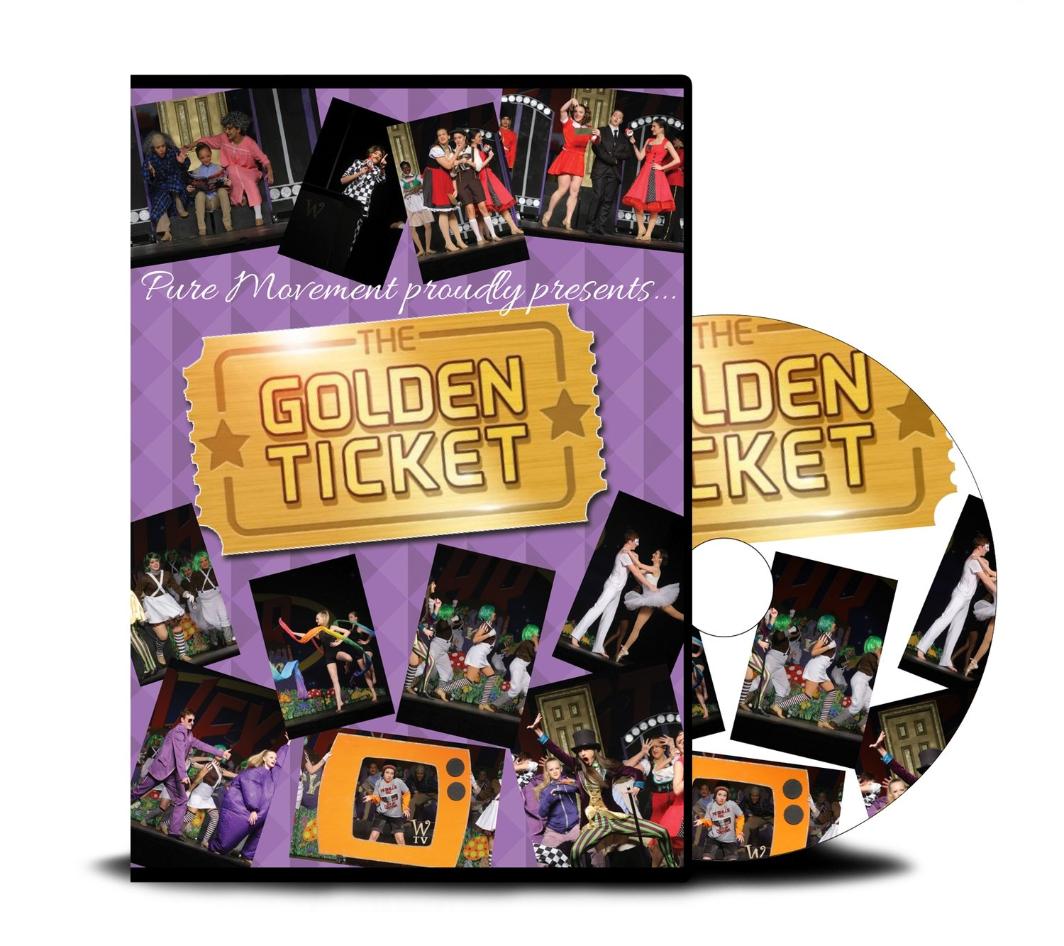 Pure Movement 2017 The Golden Ticket DVD
