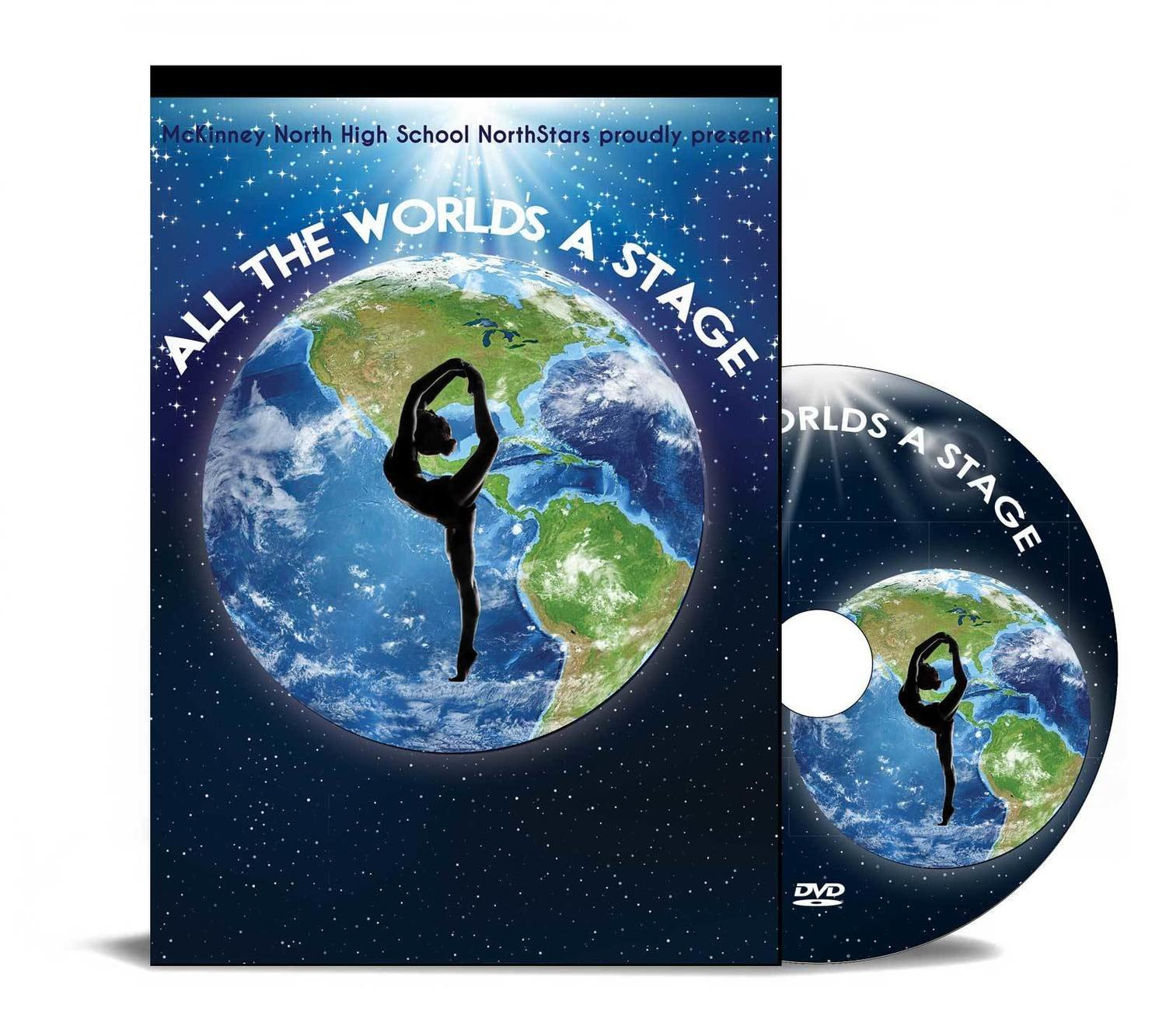 Northstars 2018- All The Worlds A Stage - DVD