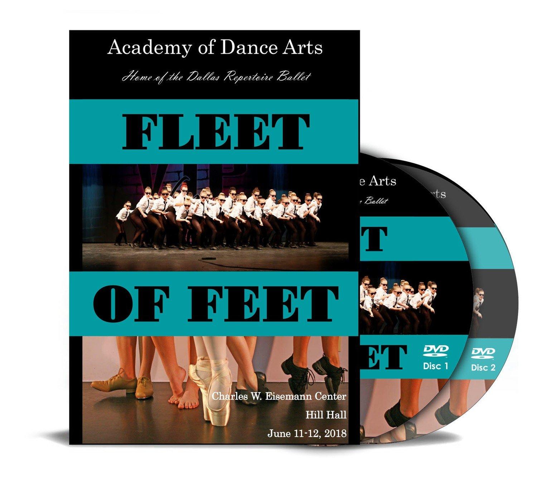 Fleet of Feet 2018 DVD