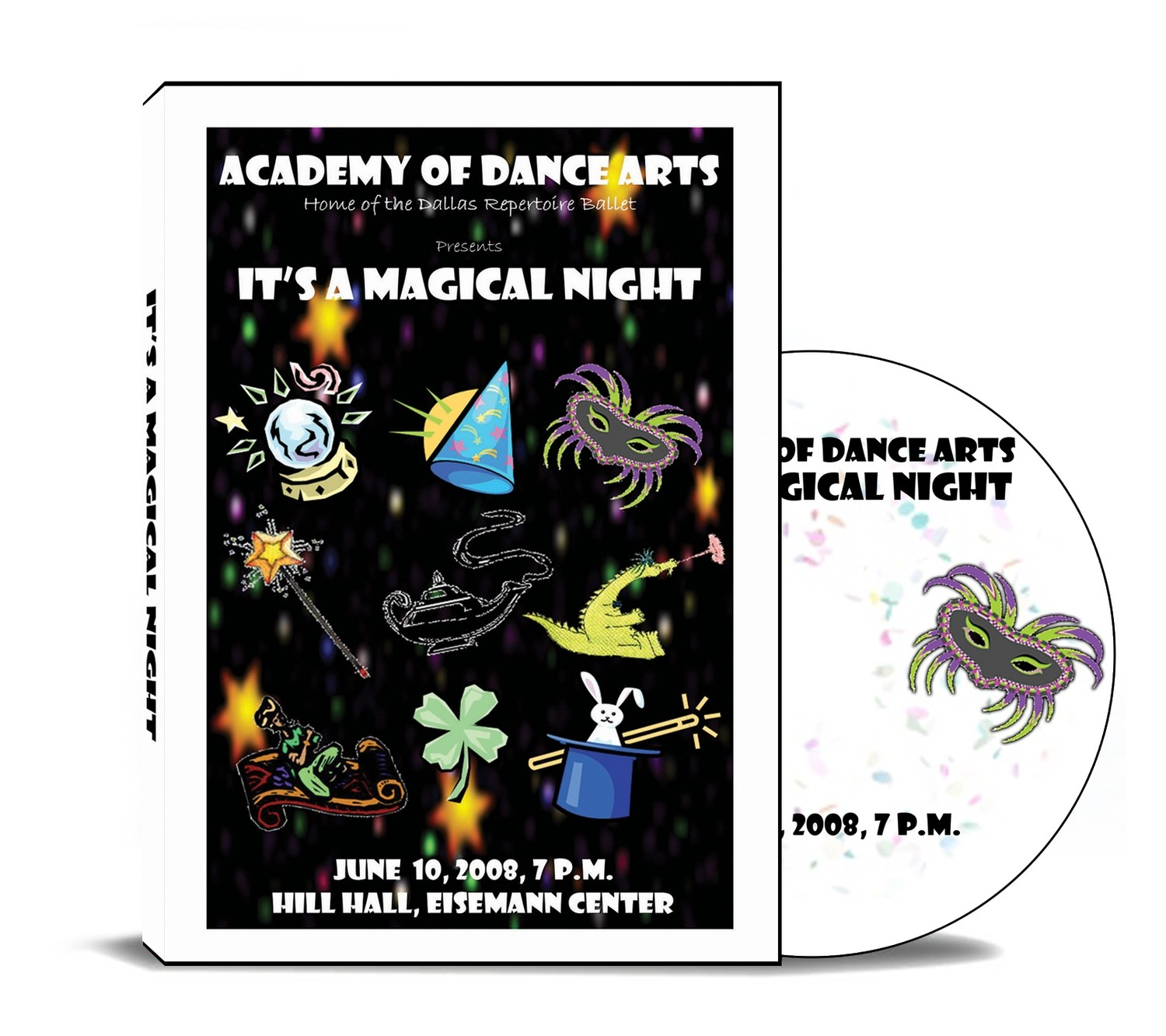 It's A Magical Night 2008 DVD