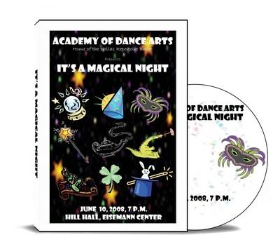 It's A Magical Night 2008 DVD