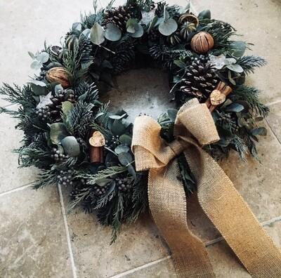 Wreath Workshop - Sunday 28th November 1.30pm - 3.30pm