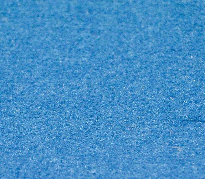 Teppich flammhemmend Farbe: Blau