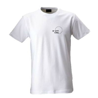 T-Shirt White (small logo)