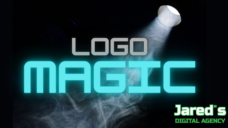 Neon Glitch Logo Animation
