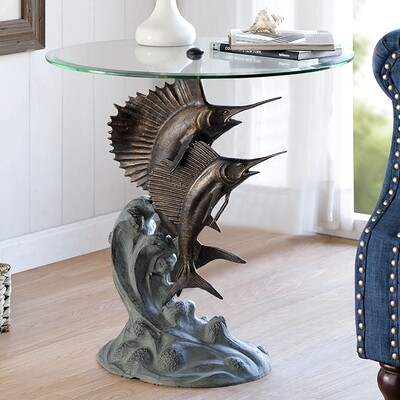DESIGNER TABLE-MARLIN & SAILFISH
