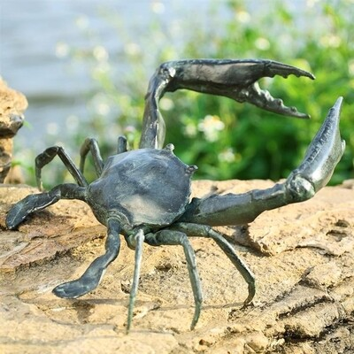 SEA SCULPTURE-DEFENDER CRAB