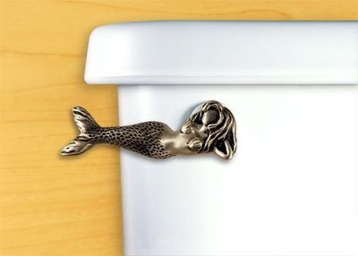 MERMAID FLUSH HANDLE-LAYING