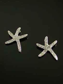 FASHION JEWELRY-STARFISH EARRINGS