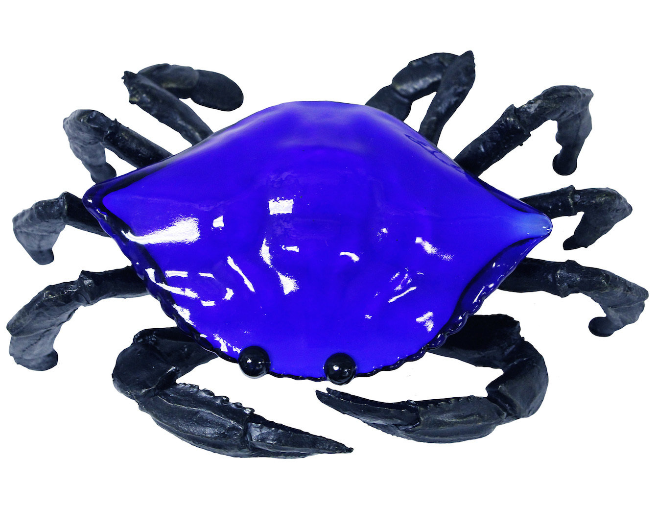 ACCENT LAMP-BLUE CRAB