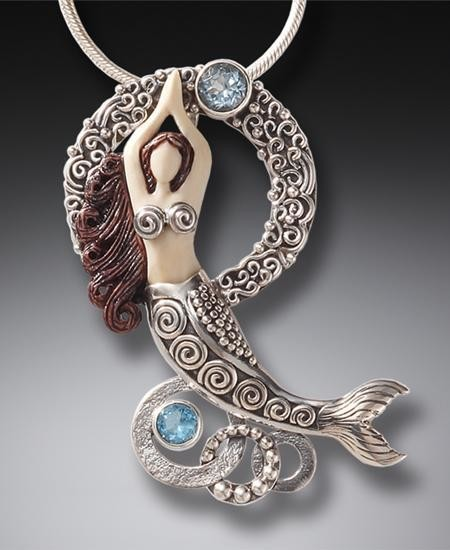 DESIGNER JEWELRY-STERLING SILVER-MERMAID JEWELS