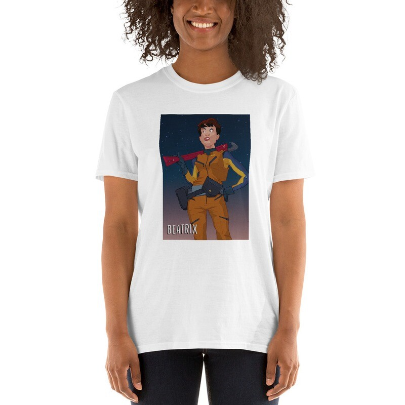 Beatrix on Short-Sleeve Unisex T-Shirt