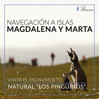 Navegación Islas Magdalena y Marta