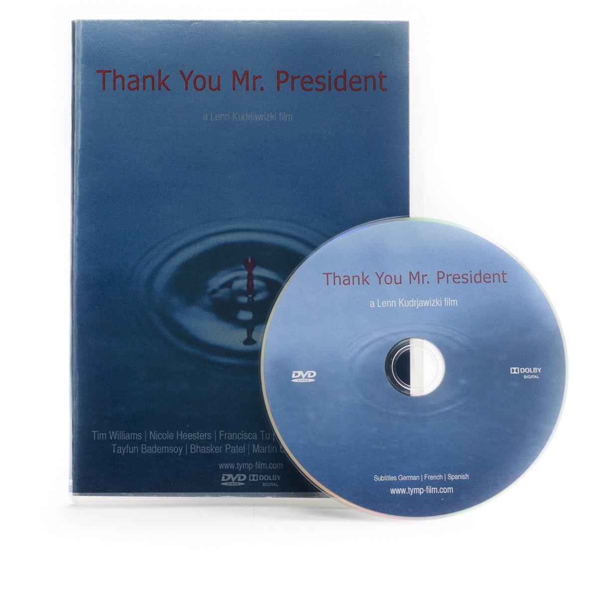 Thank You Mr. President (short film) DVD