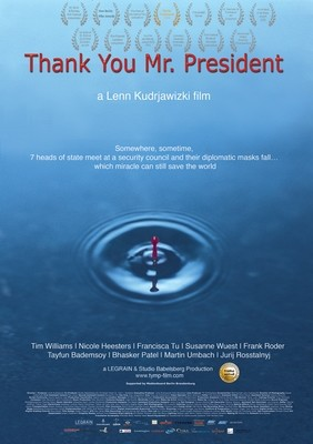 Thank You Mr. President - Poster A1