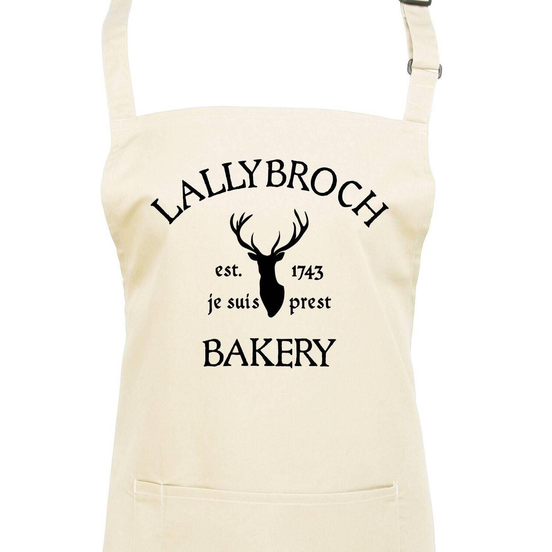 Lallybroch Bakery Apron. Je Suis Prest!
