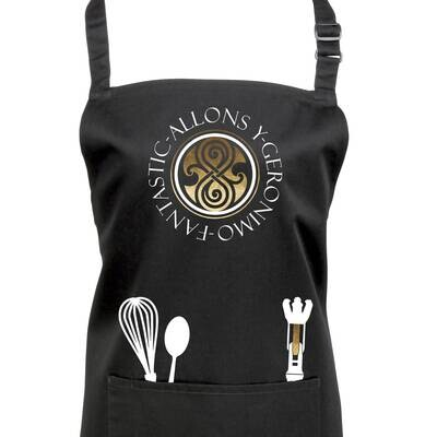 Doctor Who Time Lord Apron with Sonic Screwdriver.