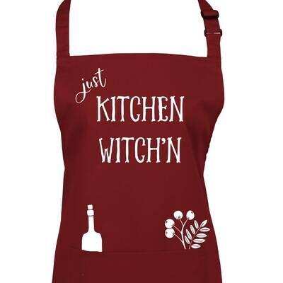 Kitchen Witch'n Apron.