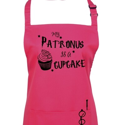 My Patronus is a Cupcake Wizard Apron in 23 colours.