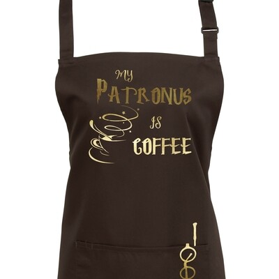 My Patronus is a Coffee Wizard Apron in 23 colours.