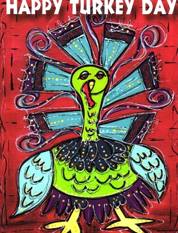 Happy Turkey Day Card