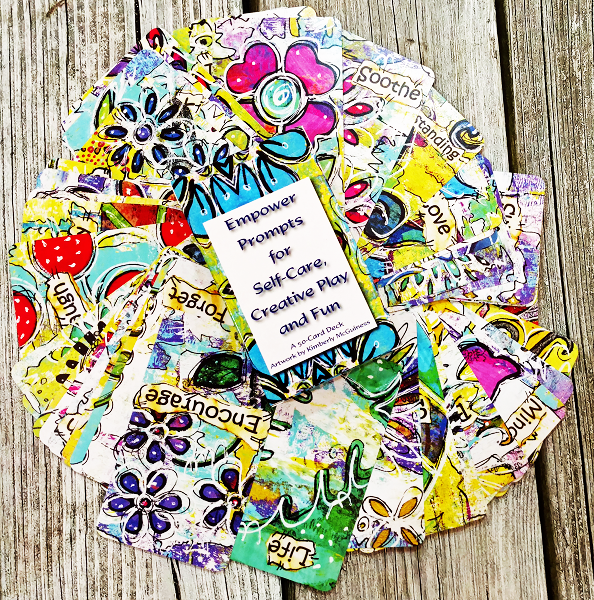 Empower Prompts ~a 50 Card Deck for Self-Care, Creative Play & Fun