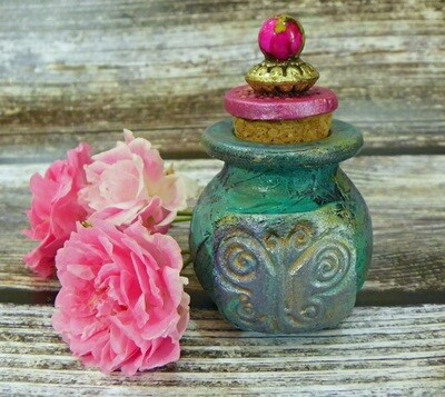 Apothecary Jar Mini-Butterfly 1