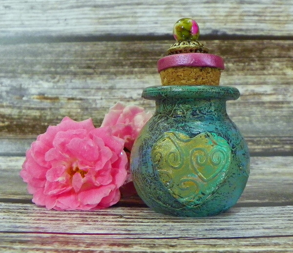 Apothecary Jar Mini-Heart 1
