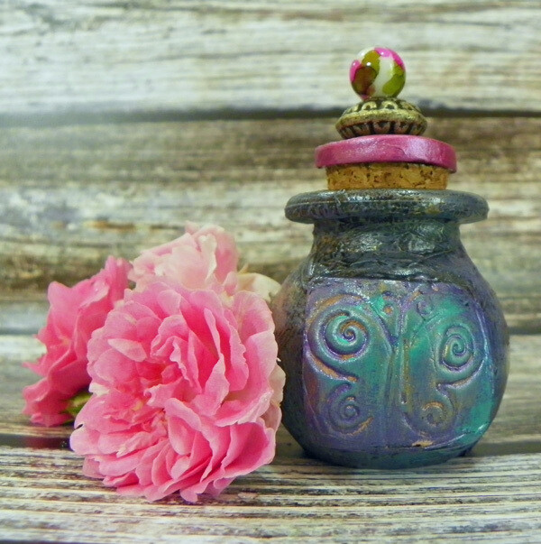Apothecary Jar Mini-Butterfly 2