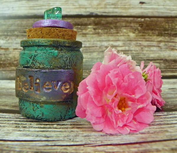 Apothecary Jar Mini-Believe
