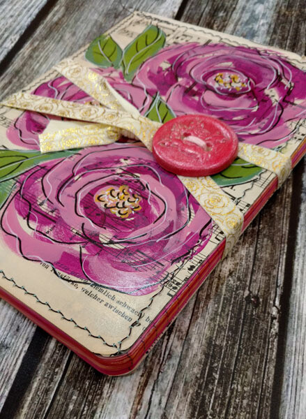 Pink Roses Journal