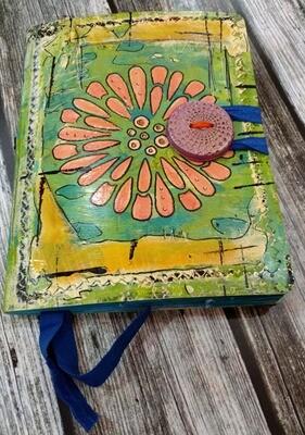 Journal Hand Painted Original Art