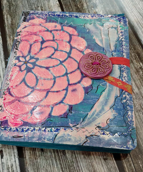 Journal Hand Painted Original Art