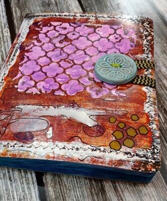 Journal Hand Painted Orginal Art