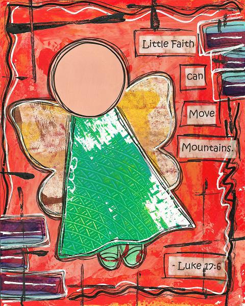 Luke 17:6 Blank Note Card