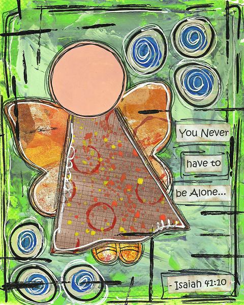 Isaiah 41:10 Blank Note Card