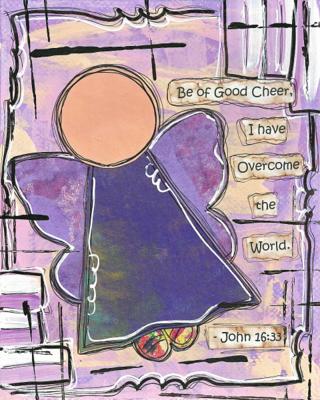 John 16:33 Blank Note Card
