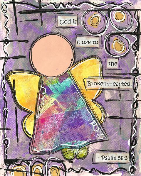 Psalm 56:3 Blank Note Card